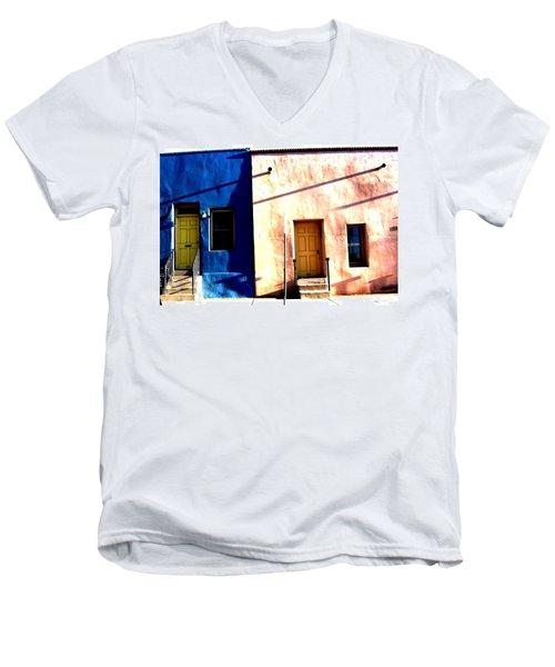 Barrio Viejo 1 Men's V-Neck T-Shirt