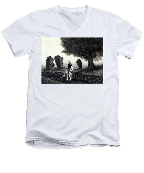 Barry Of Thierna Men's V-Neck T-Shirt