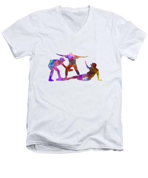 Baseball Players 03 Men's V-Neck T-Shirt