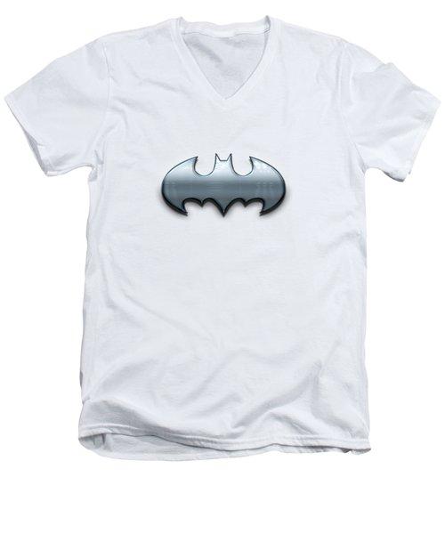 Batman Men's V-Neck T-Shirt