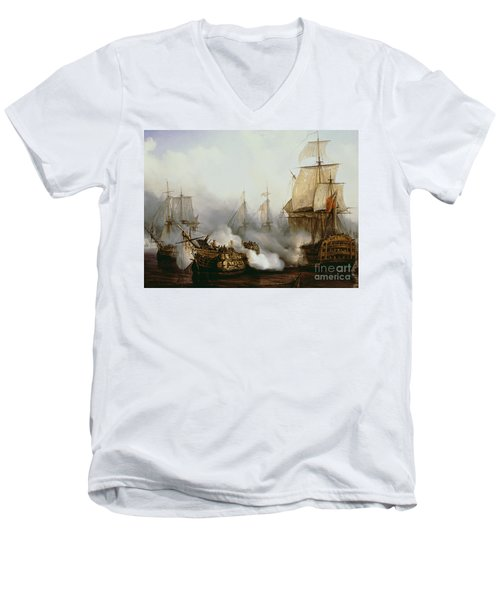 Battle Of Trafalgar Men's V-Neck T-Shirt