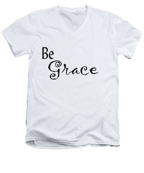 Be Grace Men's V-Neck T-Shirt