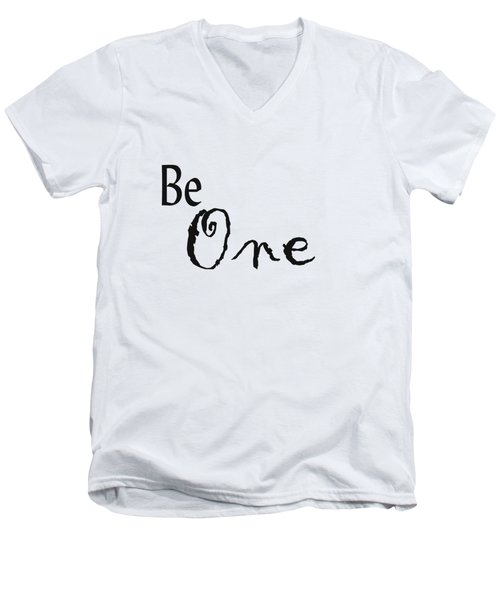 Be One Men's V-Neck T-Shirt