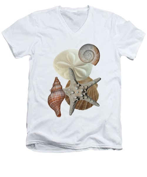 Beach Bounty Men's V-Neck T-Shirt