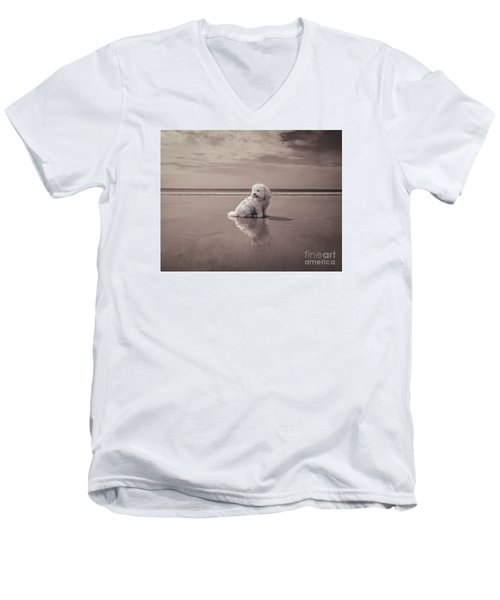 Beach Bum Men's V-Neck T-Shirt