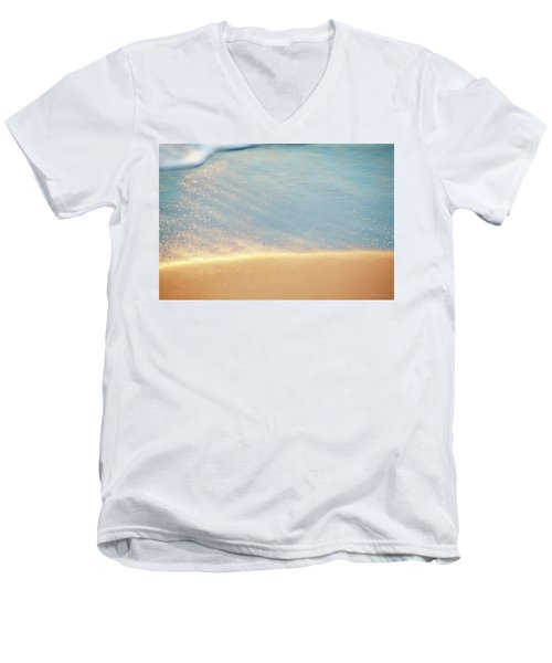 Beach Caress Men's V-Neck T-Shirt