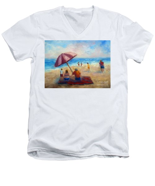Beach Fun Men's V-Neck T-Shirt