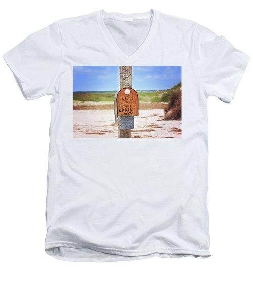 Beach Mail Men's V-Neck T-Shirt