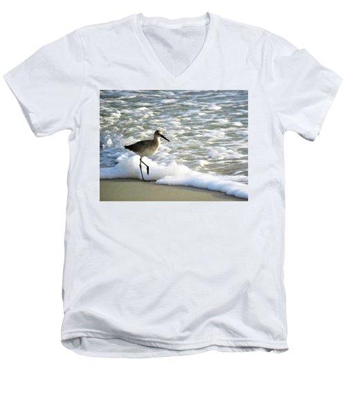 Beach Sandpiper Men's V-Neck T-Shirt