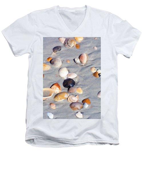Beach Shells Men's V-Neck T-Shirt