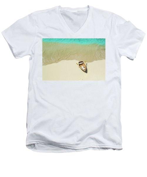 Beached Men's V-Neck T-Shirt