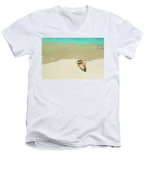 Beached Men's V-Neck T-Shirt