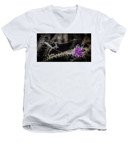 Beadwork Men's V-Neck T-Shirt