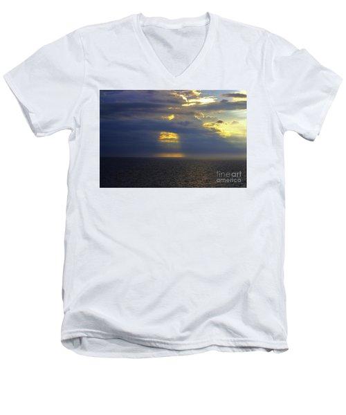 Beam Me Up Men's V-Neck T-Shirt