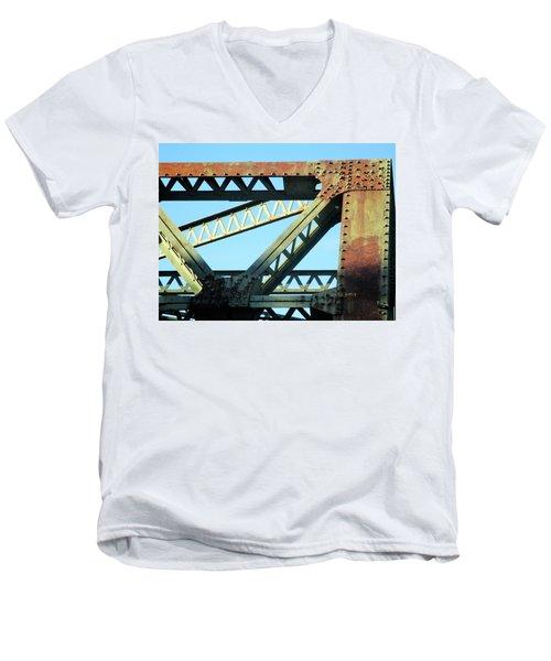 Beams And Bolts Men's V-Neck T-Shirt