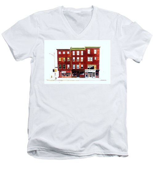 Bean Pies Men's V-Neck T-Shirt