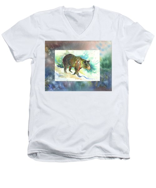 Bear I Men's V-Neck T-Shirt