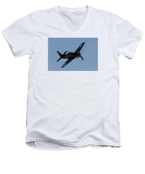 Bearcat Men's V-Neck T-Shirt