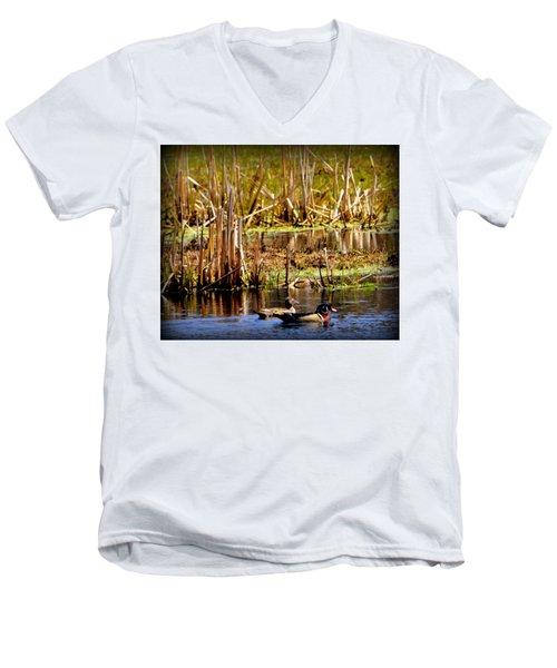 Beautiful And Unique Men's V-Neck T-Shirt