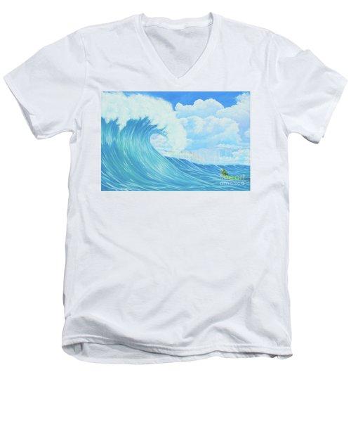 Beautiful Giant Men's V-Neck T-Shirt