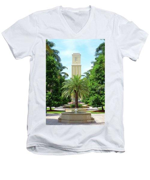 Beautiful Mizner Park In Boca Raton, Florida. #5 Men's V-Neck T-Shirt