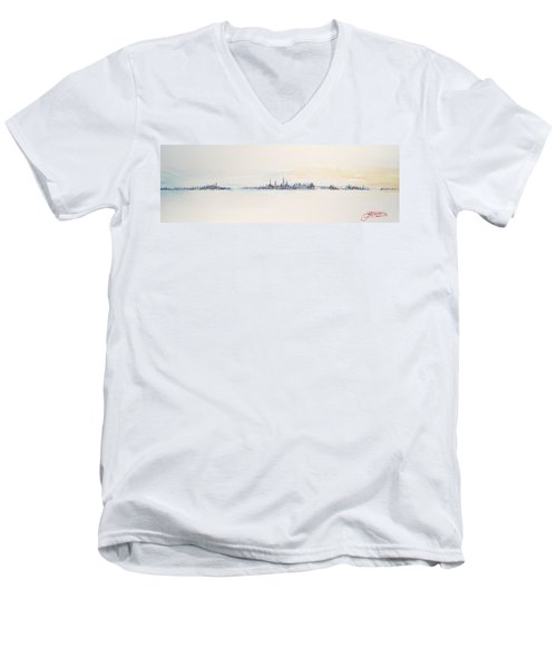 Beautiful Morning Men's V-Neck T-Shirt
