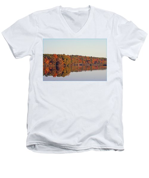 Beautiful Reflections Men's V-Neck T-Shirt