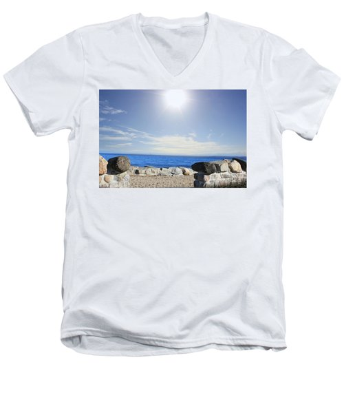 Beauty In The Distance Men's V-Neck T-Shirt
