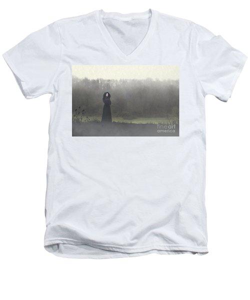 Beauty In The Fog Men's V-Neck T-Shirt