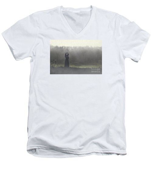 Beauty In The Fog Men's V-Neck T-Shirt