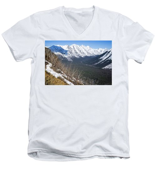 Beckoning Valley Men's V-Neck T-Shirt