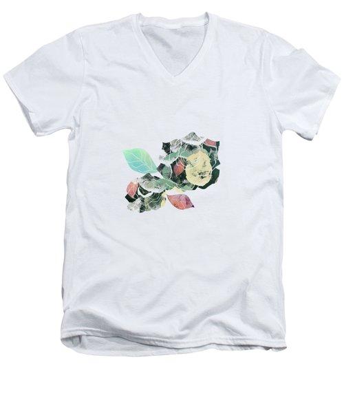 Bed Of Roses Men's V-Neck T-Shirt