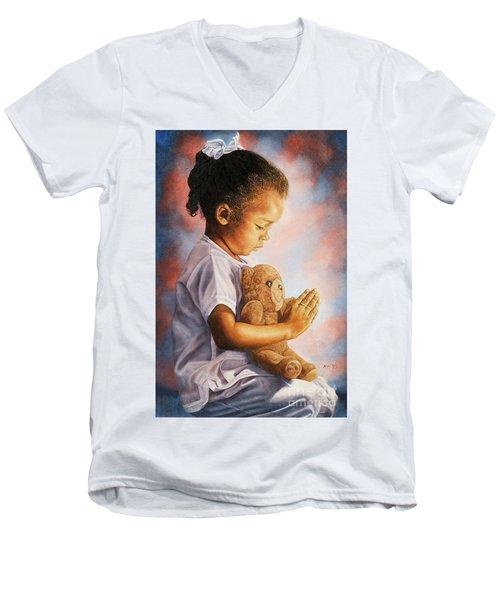 Bed Time Men's V-Neck T-Shirt