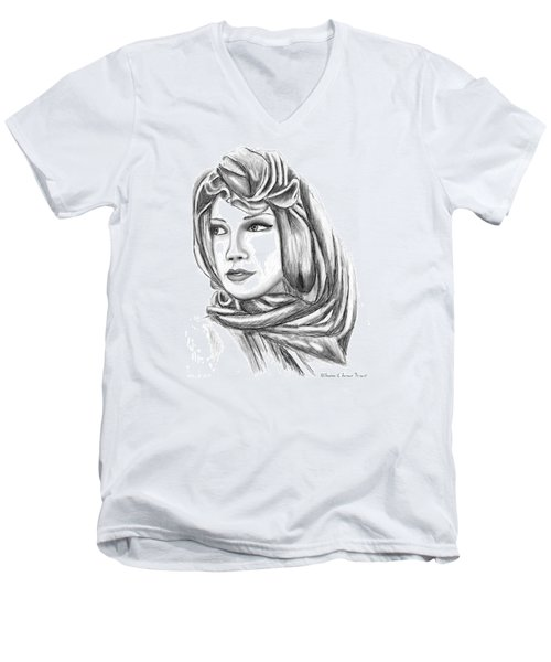 Bedouin Woman Men's V-Neck T-Shirt