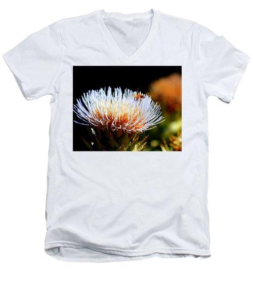 Bee And Artichoke Men's V-Neck T-Shirt