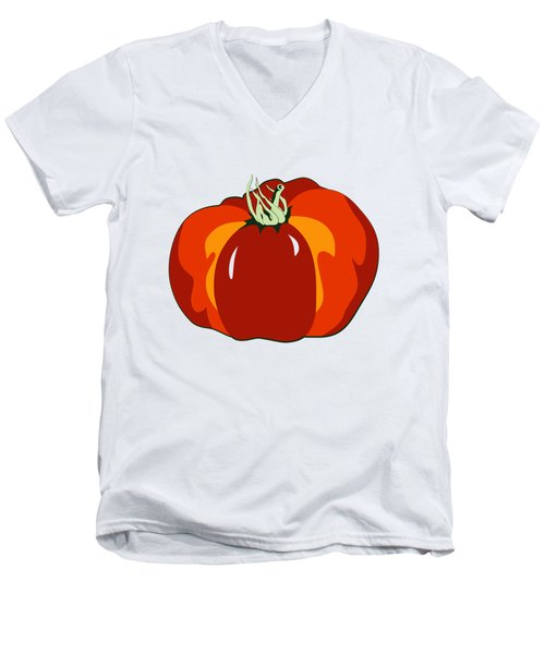 Beefsteak Tomato Men's V-Neck T-Shirt