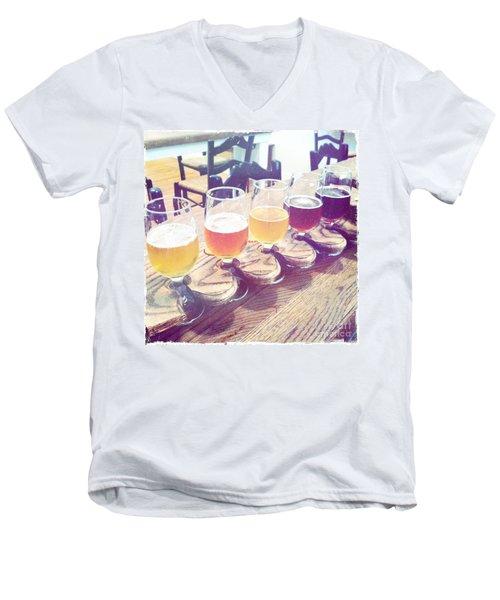 Beer Flight Men's V-Neck T-Shirt