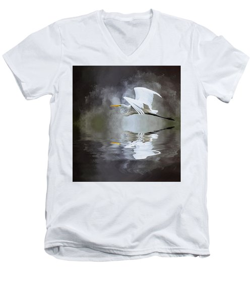 Before The Storm Men's V-Neck T-Shirt by Cyndy Doty