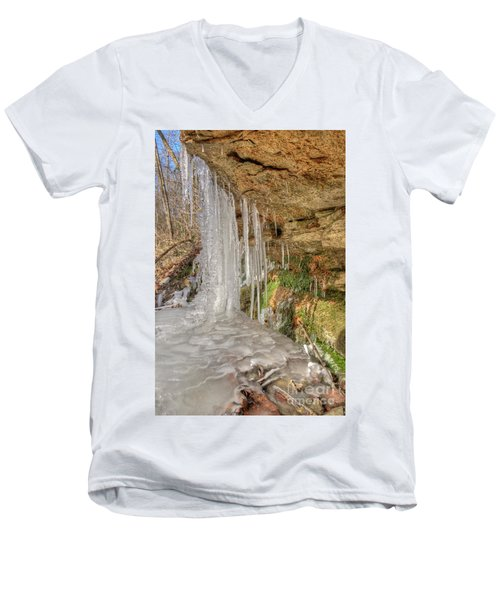 Behind The Ice Men's V-Neck T-Shirt