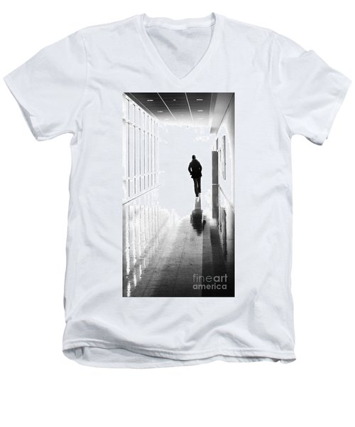 Being Alone Doesnt Mean Youre Free Men's V-Neck T-Shirt