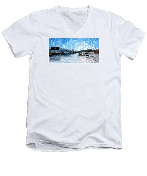 Belford Nj Men's V-Neck T-Shirt