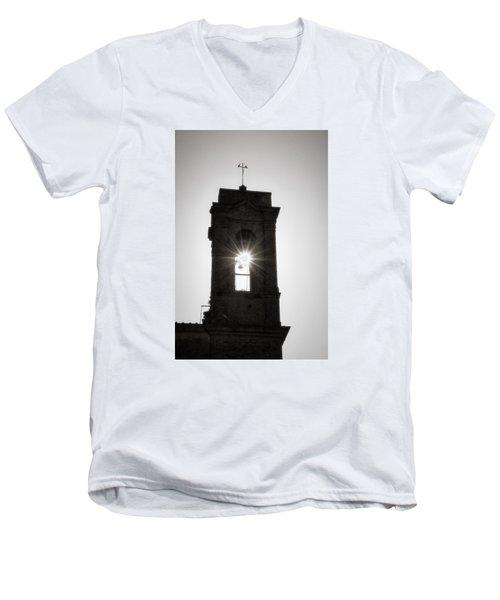 Bell Burst Men's V-Neck T-Shirt