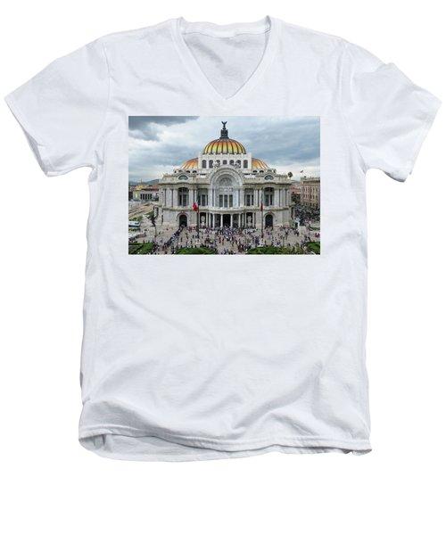Bellas Artes Men's V-Neck T-Shirt
