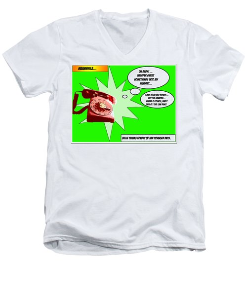 Belle Men's V-Neck T-Shirt by Christopher Woods