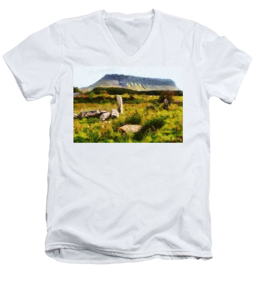 Benbulben Sligo Men's V-Neck T-Shirt