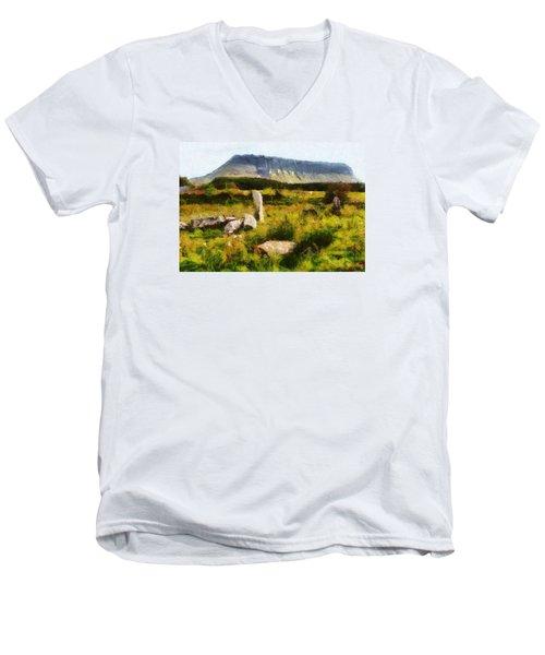 Benbulben Sligo Men's V-Neck T-Shirt