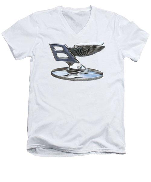 Bentley Logo Men's V-Neck T-Shirt