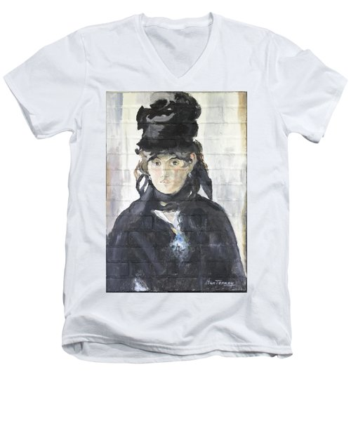 Berthe Morisot Men's V-Neck T-Shirt