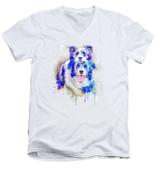 Best Buddies Men's V-Neck T-Shirt