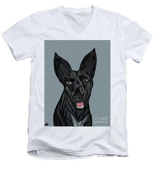Beths_cutie_dwp_2016 Men's V-Neck T-Shirt